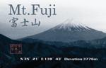 POSTCARD Mt.Fuji